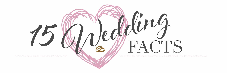 15 Wedding Facts